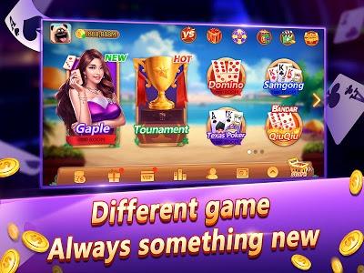 screenshot of Domino Gaple 2018 - Online Game version 1.8.5