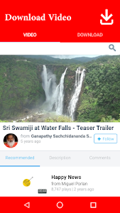screenshot of Download Video version 1.1