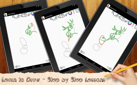 Download Drawing Lessons Ollaf Frozen 1.02 APK