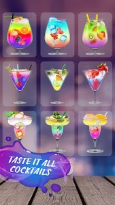 screenshot of Drink Cocktail Simulator version 1.5