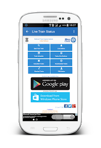 screenshot of IRCTC Mobile Ticket version 7.0