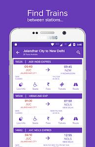 screenshot of Mobile Ticket Booking (IRCTC) version 10.0.04