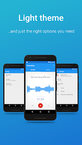 screenshot of Easy Voice Recorder version 2.4.5