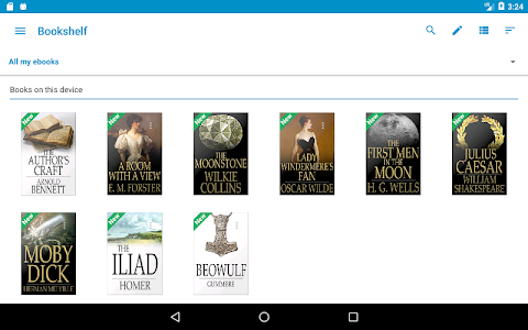 screenshot of Ebook Reader version 5.0.6