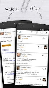 screenshot of Email Exchange + by MailWise version 3.5.1