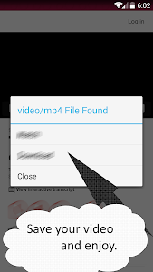 screenshot of Emo Video Downloader version 40