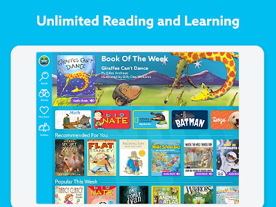 screenshot of Epic! Unlimited Books for Kids version 0.10.50