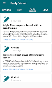 Download Fantasy Cricket League 1.5 APK
