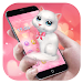 Download Cartoon Theme - Pink Kitty 1.0.3 APK