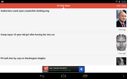 screenshot of Fast News version Varies with device