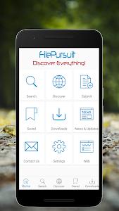 screenshot of FilePursuit version 1.1.6