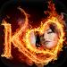 Download Fire Text Photo Frame 1.10 APK