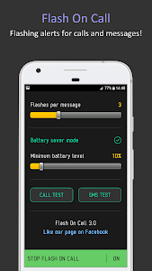Download Flash On Call: Flashing Alerts & Notifications 3.0 APK