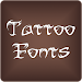 Download Fonts Tattoo for FlipFont Free 9.07.0 APK