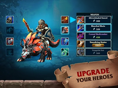 Download Forge of Glory: Match3 MMORPG & Action Puzzle Game 1.6.9 APK