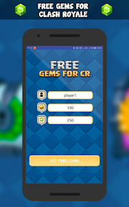 Download Free gems for CR 2018 - Prank 1.0 APK