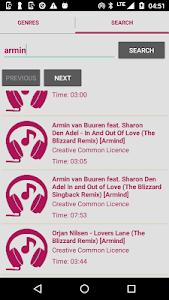 screenshot of FreeLegal - Music Download version 1.0