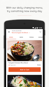 screenshot of Freshmenu - Order Food Online version 2.1.1