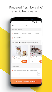 screenshot of FreshMenu - Food Ordering App version 5.0.5