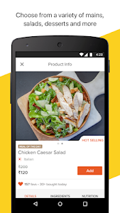 screenshot of FreshMenu - Food Ordering App version 4.8.2