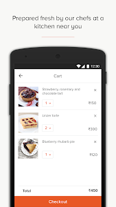 screenshot of Freshmenu - Order Food Online version Varies with device