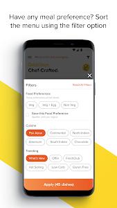screenshot of FreshMenu - Food Ordering App version Varies with device