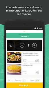 screenshot of Freshmenu: Fresh Food Delivery version 1.4