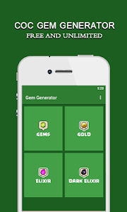screenshot of Gems Cheats For Clash Of Clans version 1.0