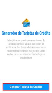 Download Generador Tarjetas de Crédito 8 APK