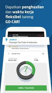 screenshot of GO-CAR Driver version 4.1.2