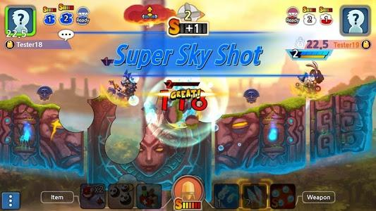 screenshot of GunboundM version 1.0.12