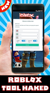 Download Ha-Ck Roblox for Robux and Tix free prank 1.2 APK