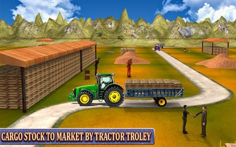 screenshot of Heavy Tractor Farming Simulator 3D version 1.0