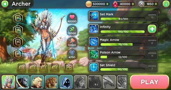 screenshot of Heroes of Alterant: Match 3 RPG version 3.6.1
