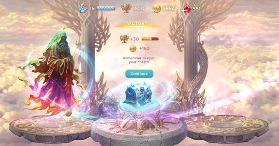 screenshot of Heroes of Alterant: Match 3 RPG version Read more