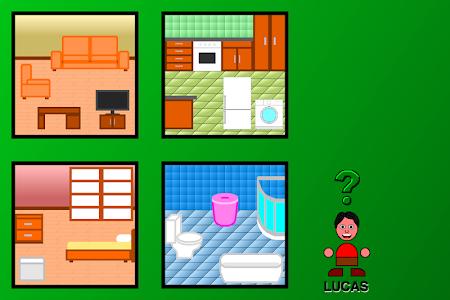 screenshot of Hide and Seek for Children version 2.0
