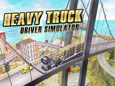screenshot of Heavy Truck Driver Simulator version 1.9