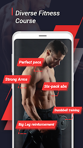 screenshot of Home Workout - 6 Pack Abs Fitness, Exercise version 1.18