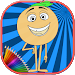 Download How To Color Emoji movie kids coloring game 1.1 APK