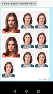 screenshot of ID Photo application version 1.83