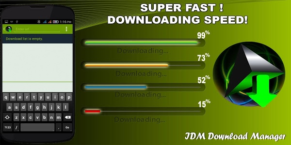 Download IDM+ Download Manager free 7.13 APK