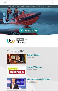 screenshot of ITV Hub version 5.1.1