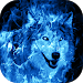 Download Ice Fire Wolf Wallpaper 1.1 APK