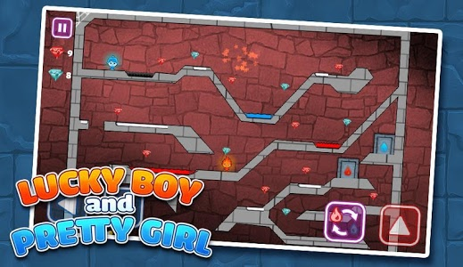 Download LuckyBoy and PrettyGirl - Crystal Temple Maze 3.52 APK