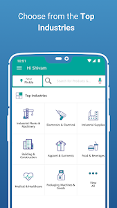 screenshot of IndiaMART: Search Products, Buy, Sell & Trade version 12.4.1
