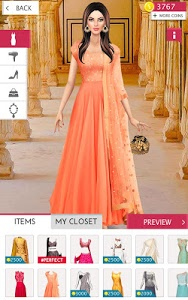 screenshot of Indian Fashion Stylist version 2.4
