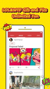 screenshot of INJOY.FUN: Funny Video, Gif, Pic, Lol for Indian version V2.1.1