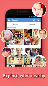 screenshot of InstaMessage-Chat,meet,hangout version 2.1.6