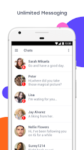 screenshot of InMessage - Chat, meet, dating version Varies with device