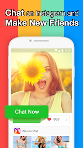 screenshot of InstaMessage-Chat,meet,dating version Varies with device
